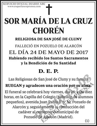 María de la Cruz Chorén